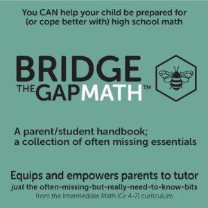 Bridge the Gap Math facts