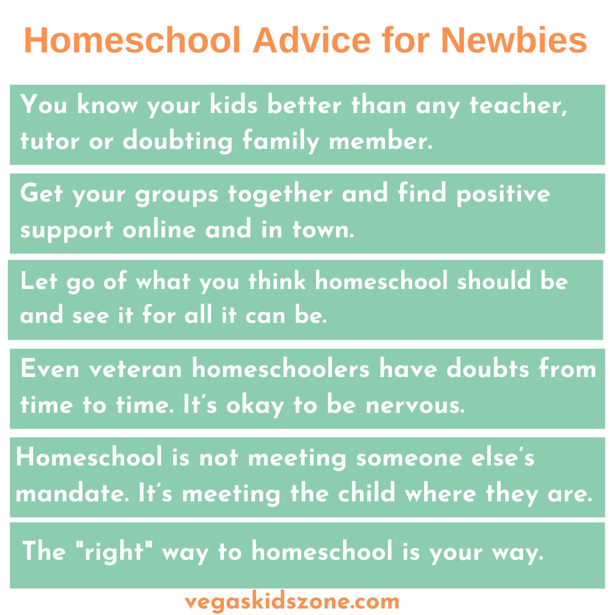 tips to homeschool