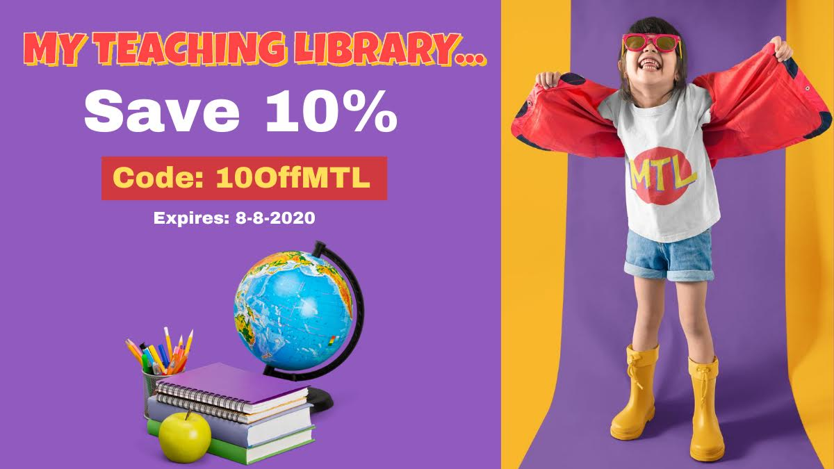 10 % off My Teaching Library