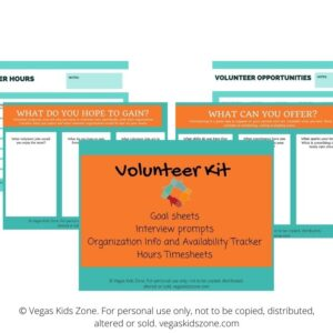 Volunteer kit images