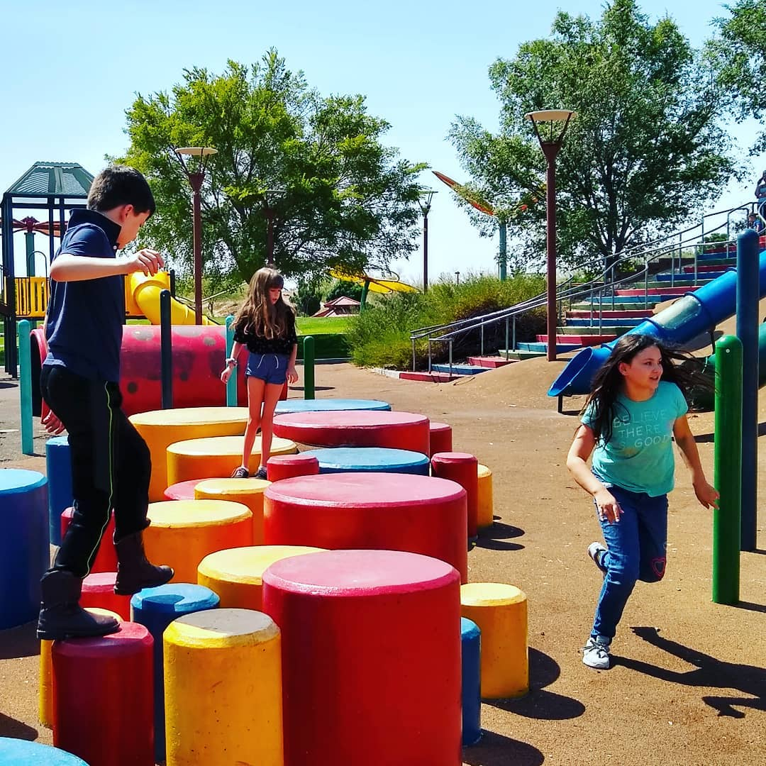 Centennial Hills Park has a wide variety of activities for kids of all ages.