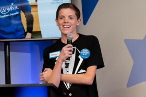 teen overcomes obstacles with Make a Wish