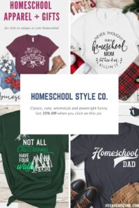 Homeschool Style Co. has 20% off their inspired styles!