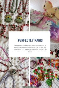 Perfectly Paris homemade gifts made by two teens with a plan to get to Paris.