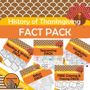 Thanksgiving activities kit