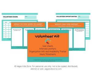 volunteer hours kit