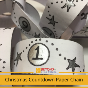 Beyond the Stick Figure Christmas Paper Chain