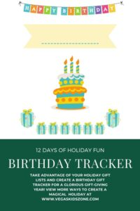 birthday gift tracker