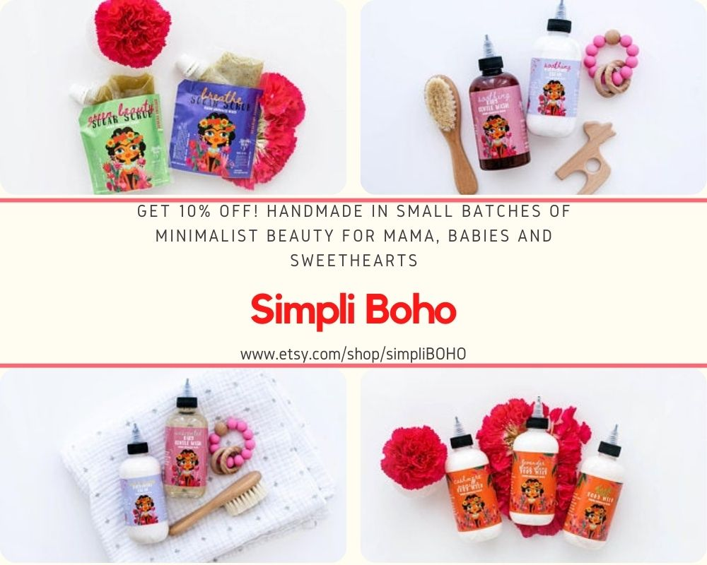 simpli boho handmade lotions
