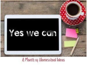 homeschool ideas for february