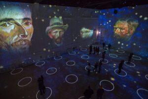 Immersive Van Gogh experience in Las Vegas